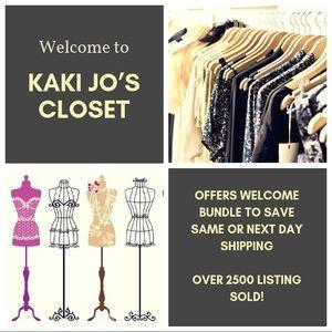 Kaki Jo's Closet Jewelry - Lapis Lazuli Stainless Steel Bracelet